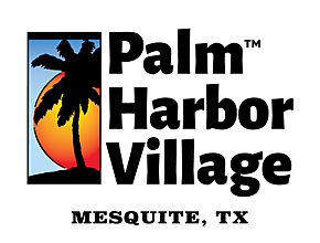Palm Harbor Village of Mesquite logo