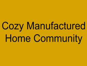 Cozy Manufactured Home Community Logo