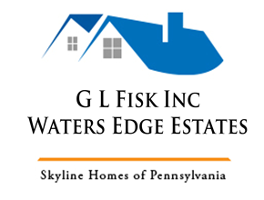 G L Fisk Inc-Waters Edge Estates Logo