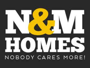 N & M Homes Logo