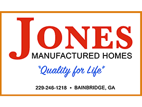 Jones Manufactured Homes logo