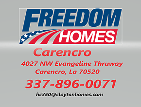 Freedom Homes of Carencro logo