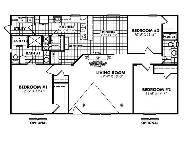 Floor Plan Detail National Homes