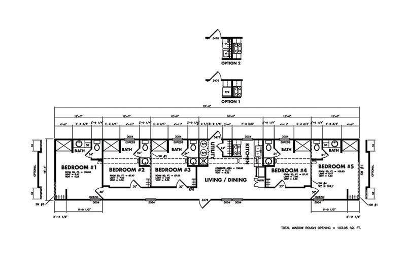 """Classic Legacy """"The Crew House"""" Layout"""