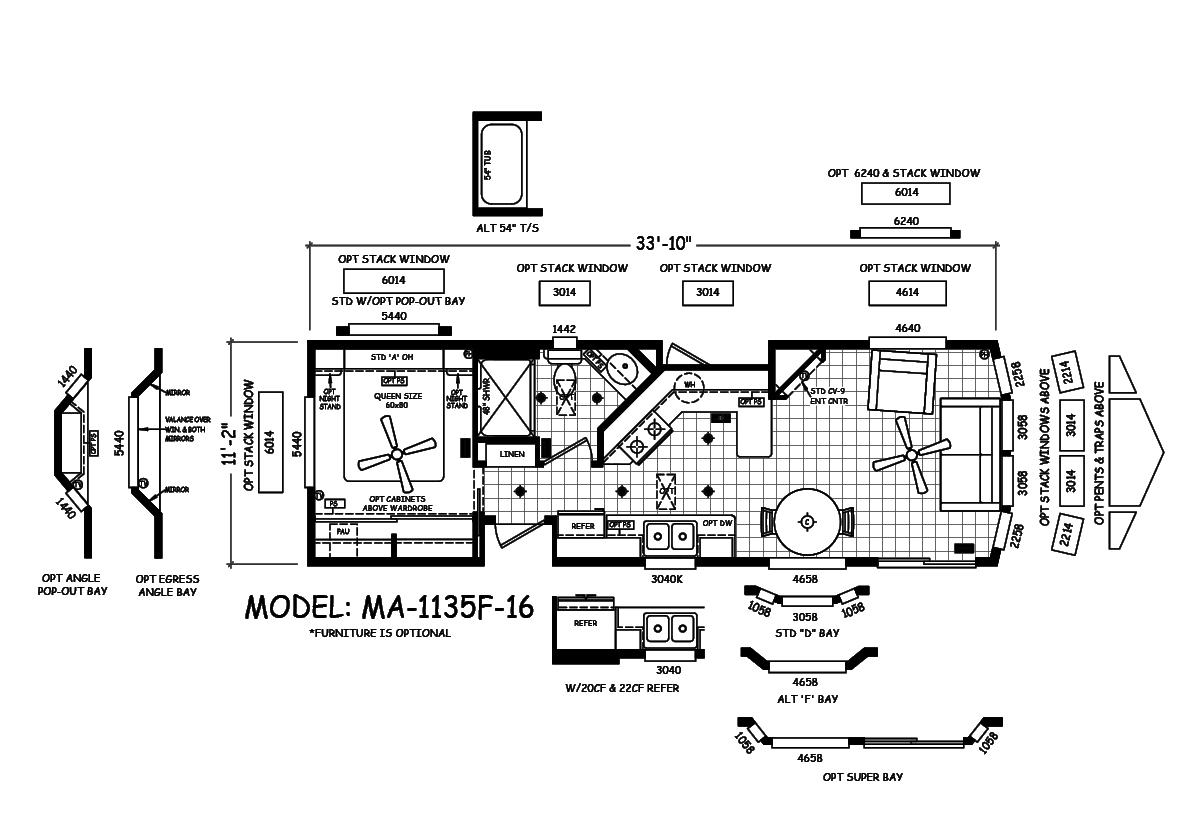 Malibu - MA-1135F-16