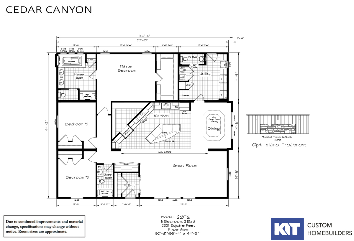 Cedar Canyon 2076 Layout