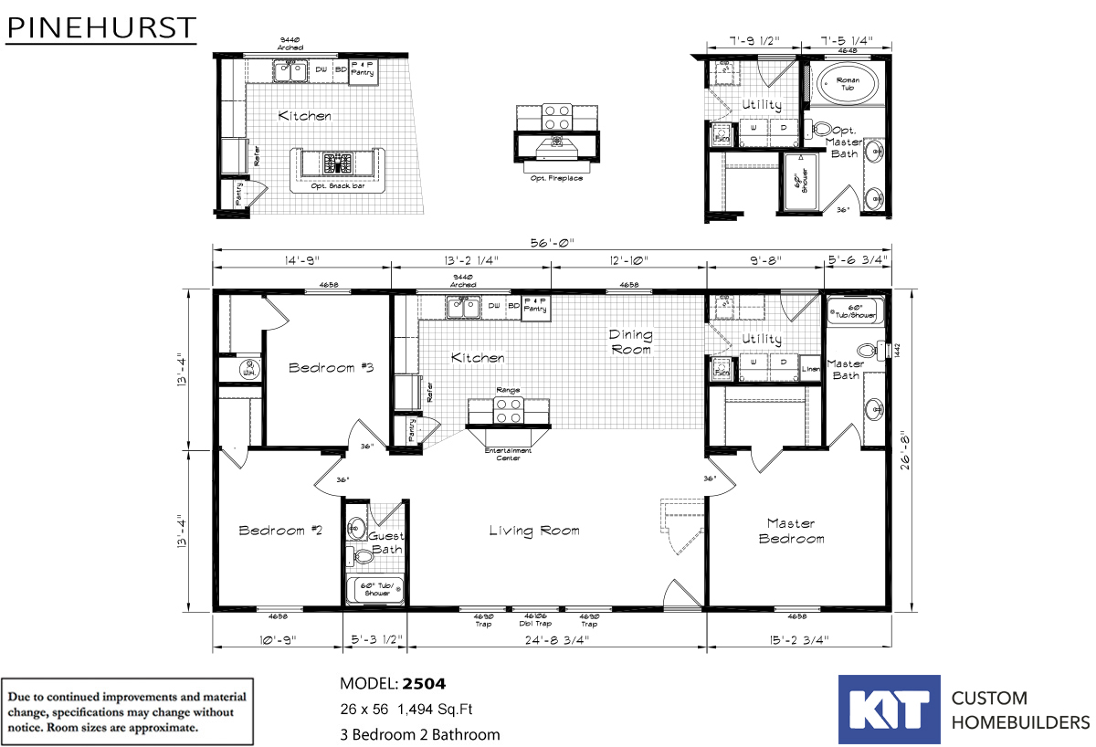 Pinehurst - 2504-V1