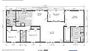 Cedar Canyon 2086 Privacy Porch Layout