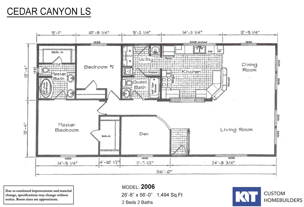 Cedar Canyon LS 2006 Layout