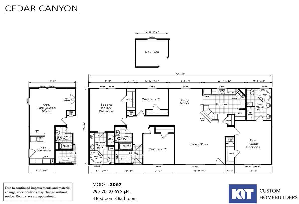 Cedar Canyon 2067 Layout
