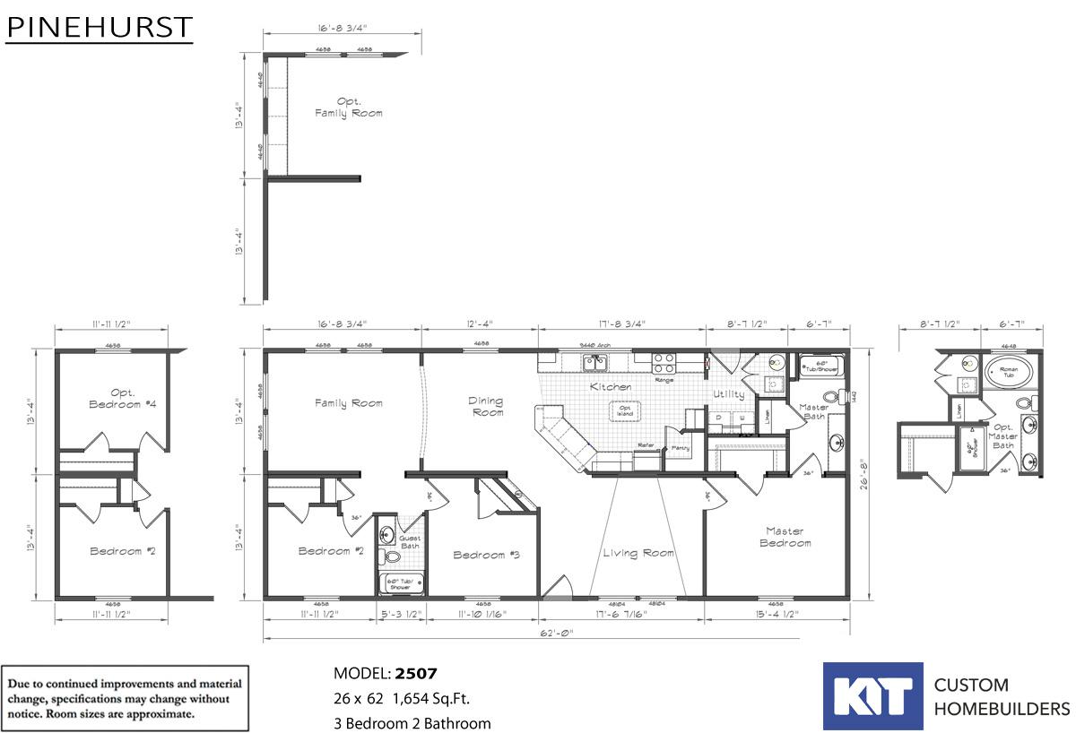 Pinehurst 2507 Layout