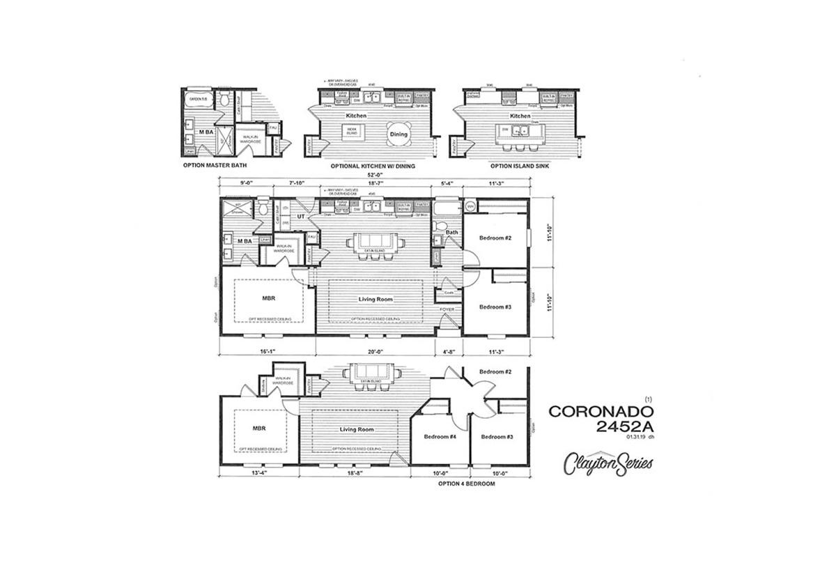 Coronado 2452A Layout