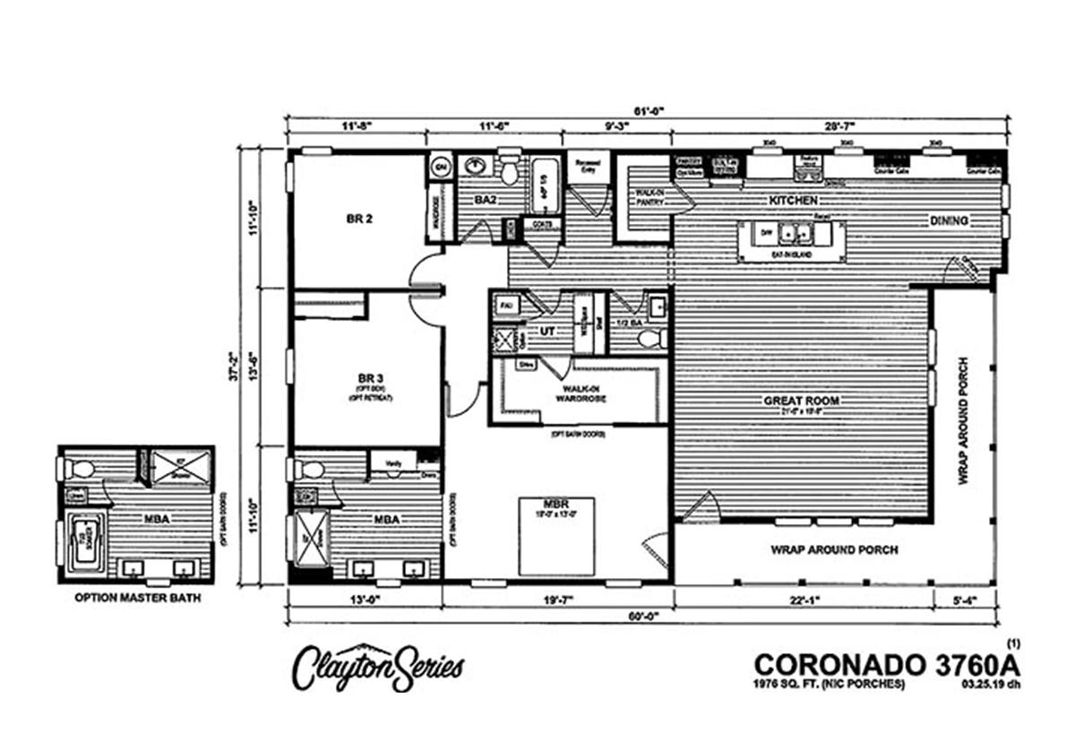 Coronado 3760A Layout