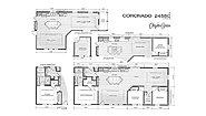 Coronado 2458C Layout