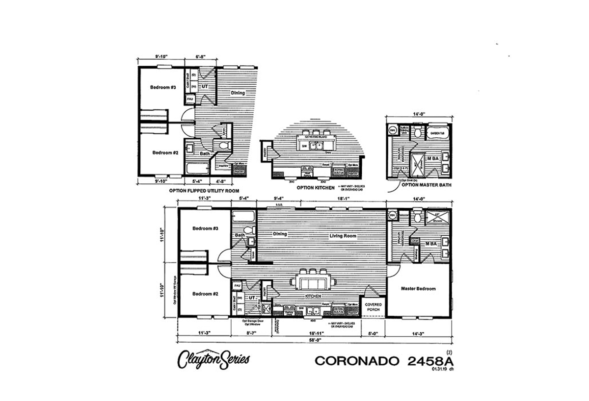 Coronado 2458A Layout