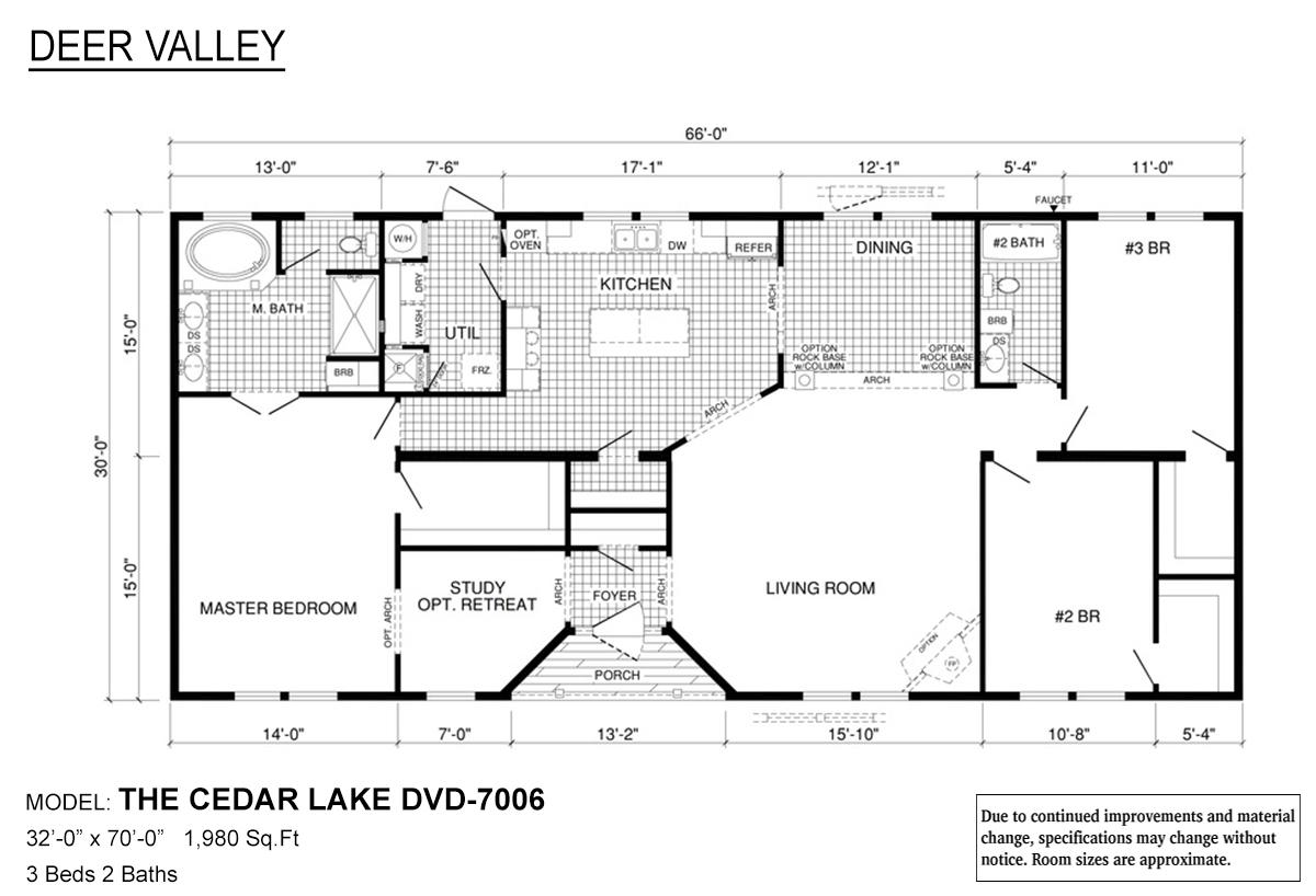 Floor Plan Detail Dorado Homes Louisiana