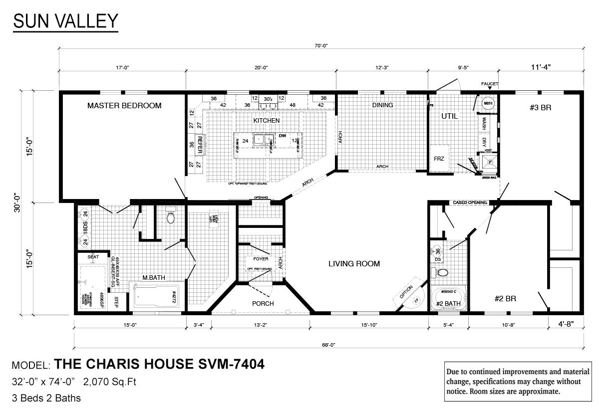 Sun Valley Series - Charis House SVM-7404