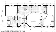 Sun Valley Series Charis House SVM-7404 Layout