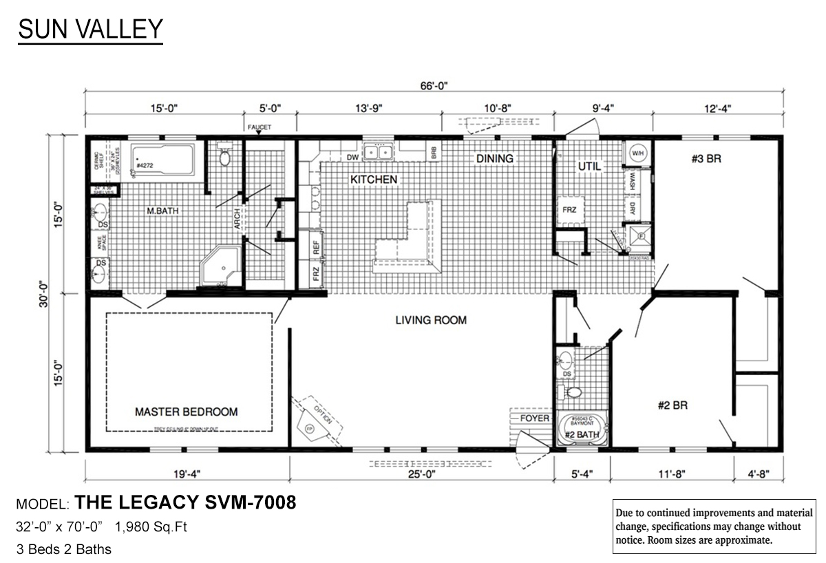Sun Valley Series - The Legacy SVM-7008