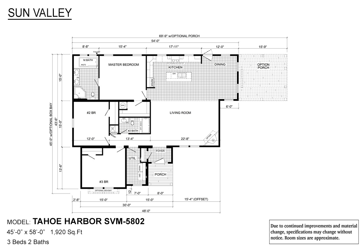 Sun Valley Series - Tahoe Harbor SVM-5802