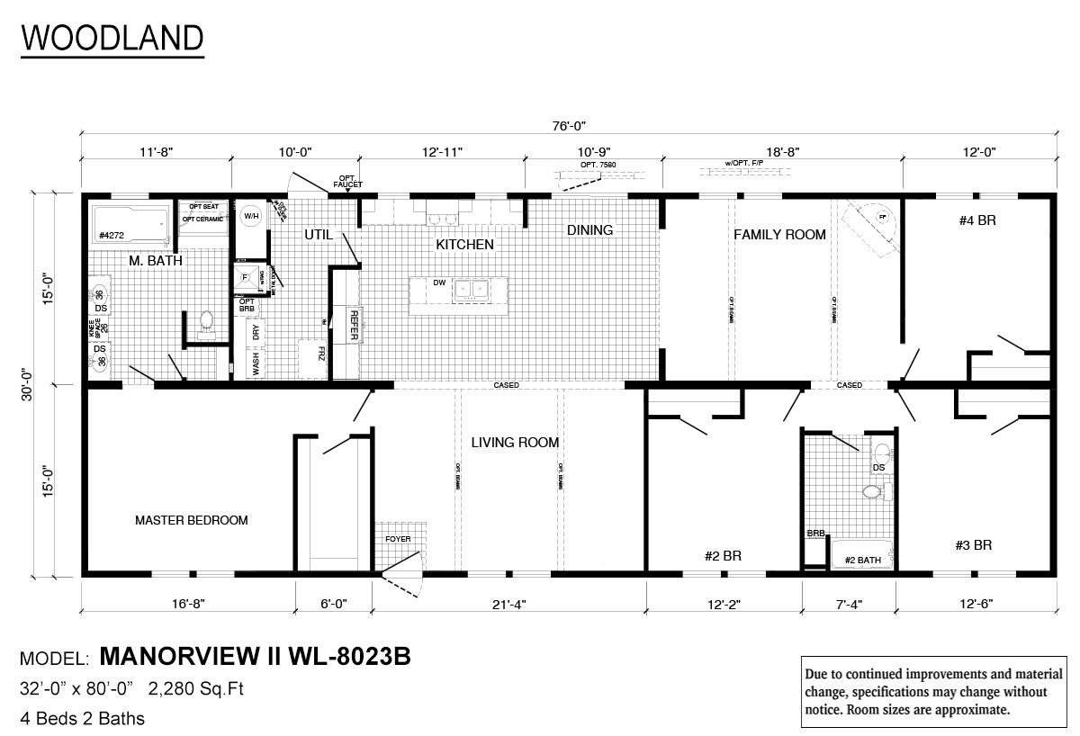 Woodland Series - Manorview II WL-8023B