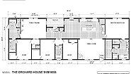 Sun Valley Series Orchard House SVM-9006 (Larger Porch) Layout