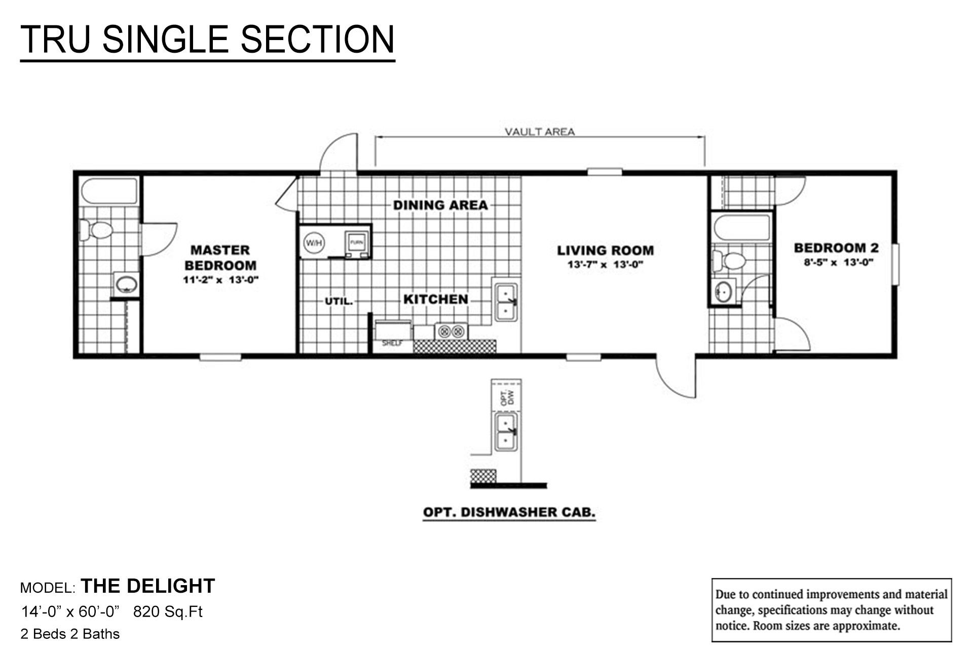 TRU Single Section - Delight
