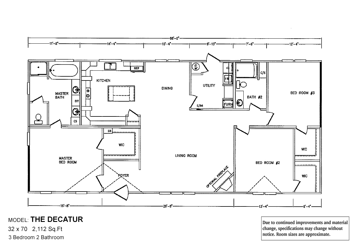 Bolton Homes DW The Decatur Layout