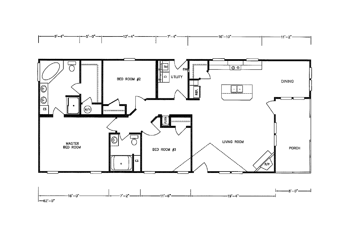 Bolton Homes DW The Rampart Layout