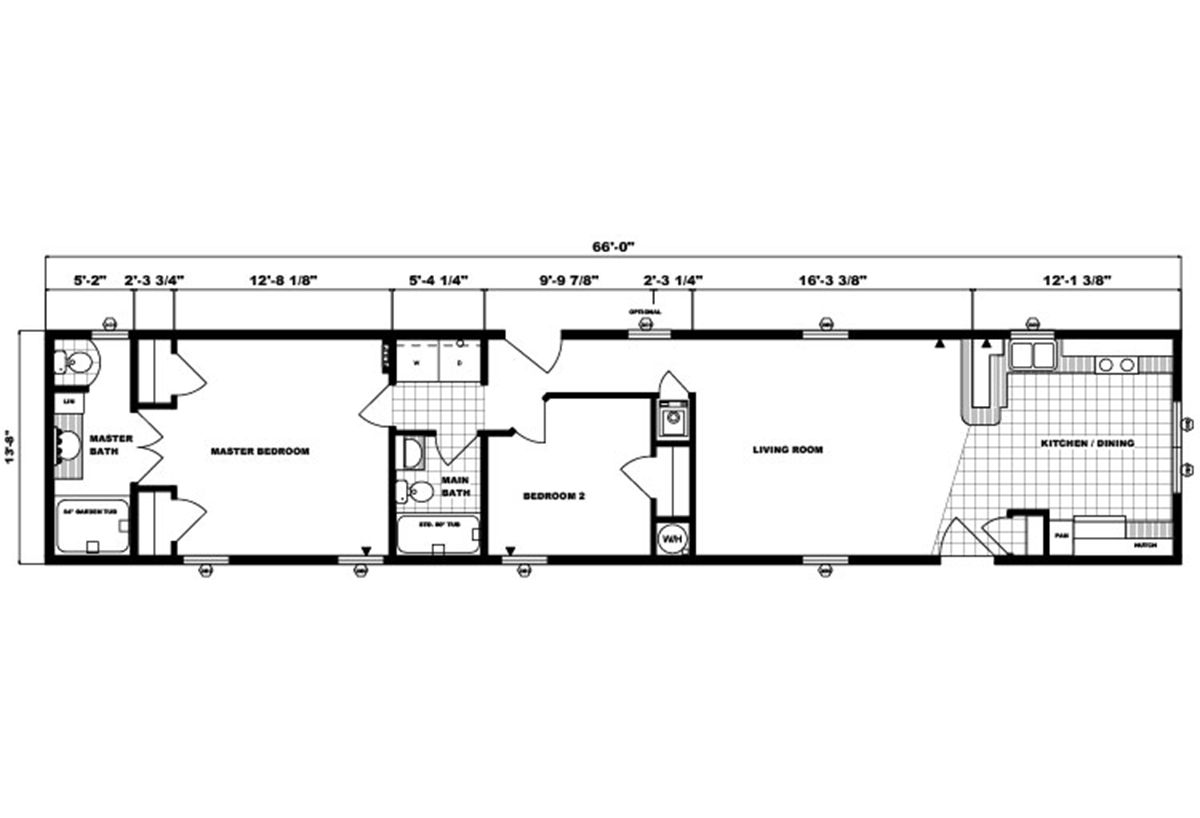 Single-Section Homes - G-513