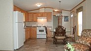 Single-Section Homes G-621 Kitchen
