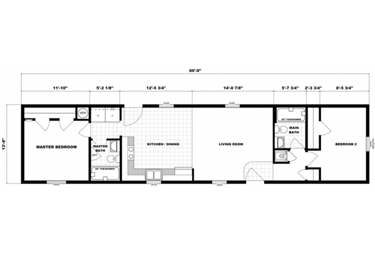 Single-Section Homes - G-621