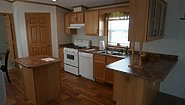 Single-Section Homes GH-577 Kitchen