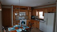 Single-Section Homes G-602 Kitchen