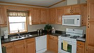 Single-Section Homes G-607 Kitchen