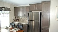 Single-Section Homes G-613 Kitchen