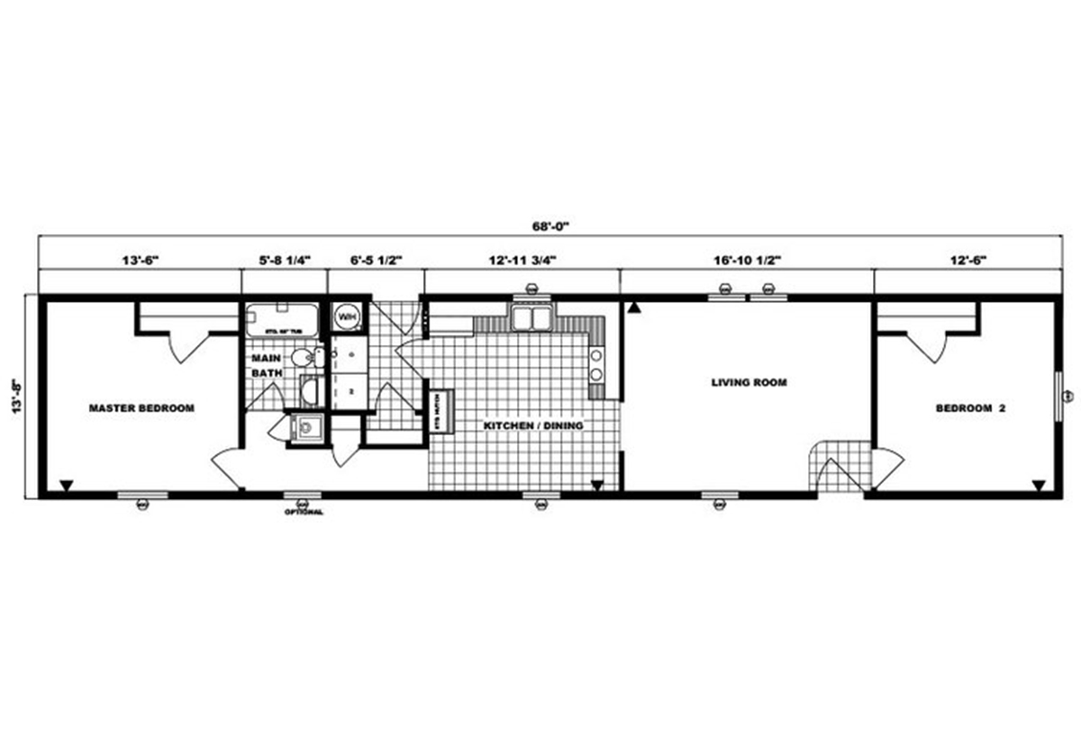 Single-Section Homes - G-558