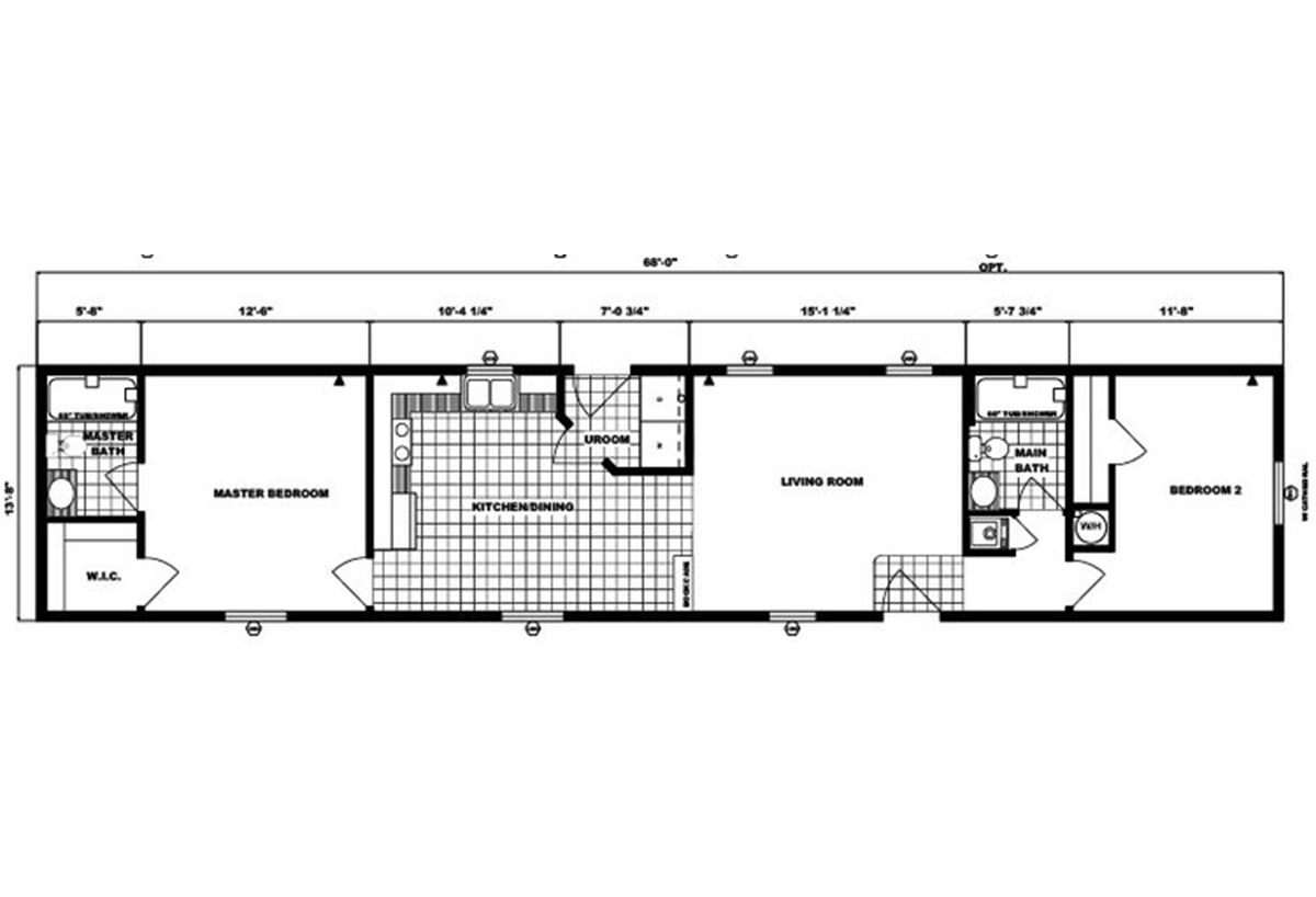 Single-Section Homes - G-573
