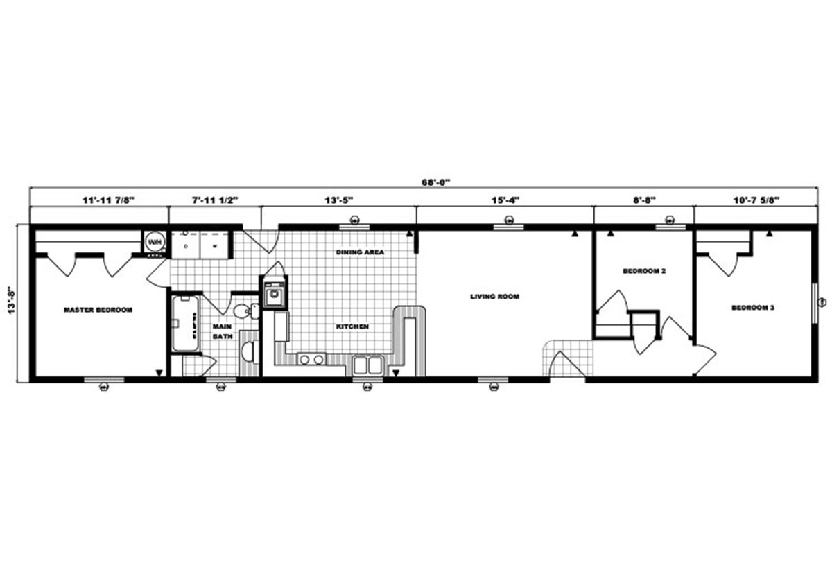 Single-Section Homes - G-495