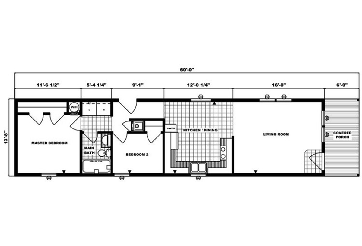 Single-Section Homes - G-552