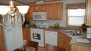 Single-Section Homes G-608 Kitchen