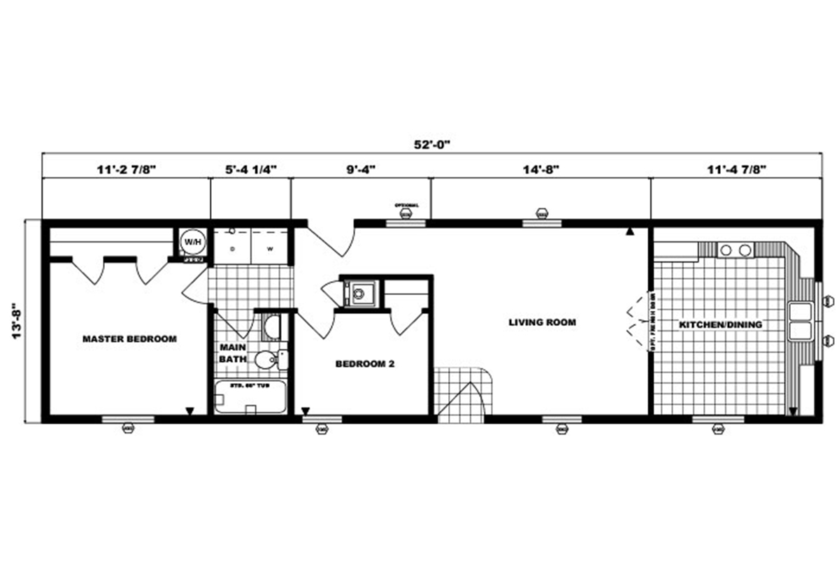 Single-Section Homes - G-485