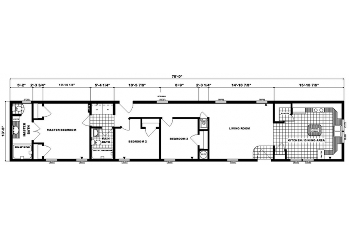 Single-Section Homes - G-503