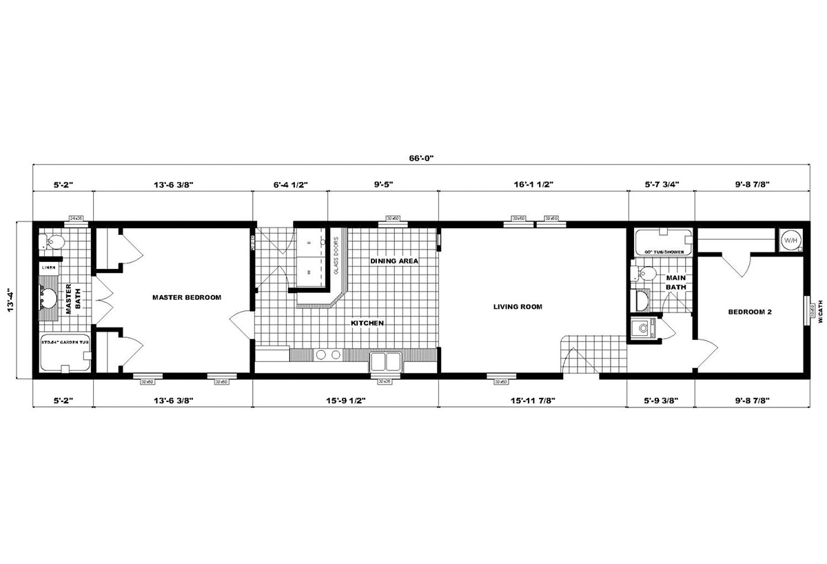 Single-Section Homes - NETR GH-496