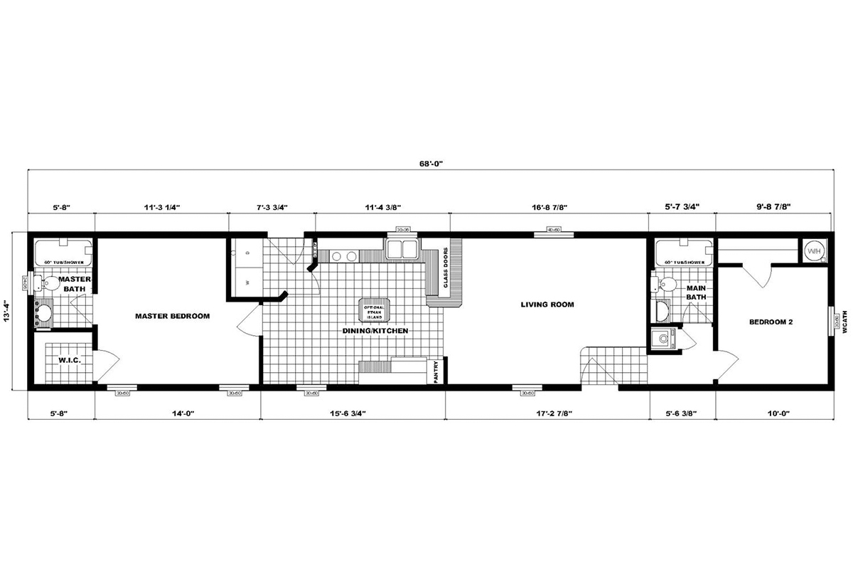 Single-Section Homes - NETR GH-577