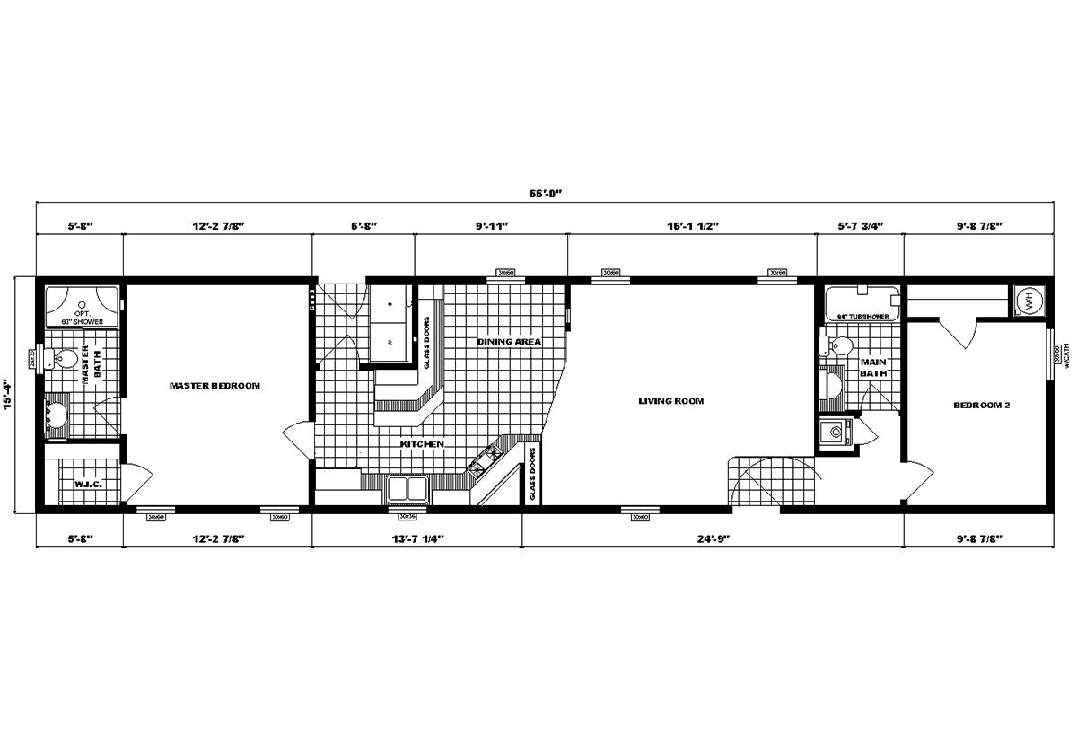 Single-Section Homes - G-16-624