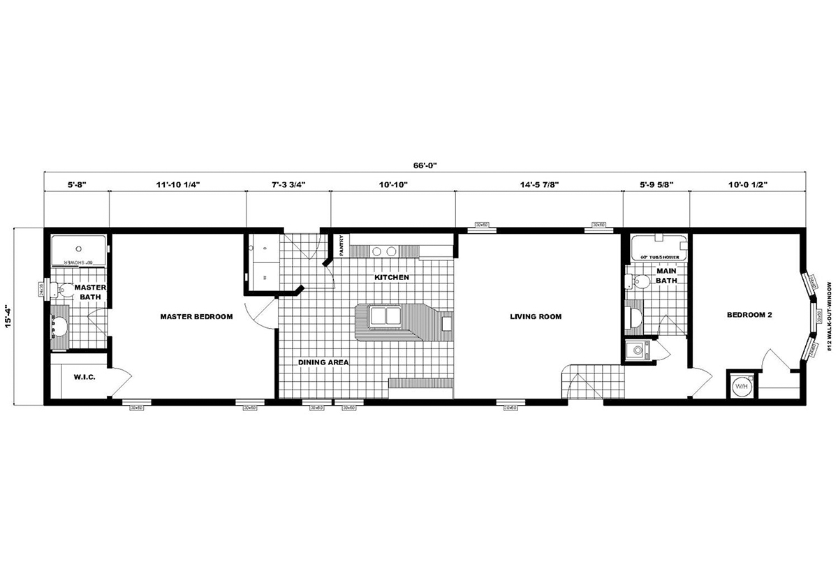 Single-Section Homes - G-16-625