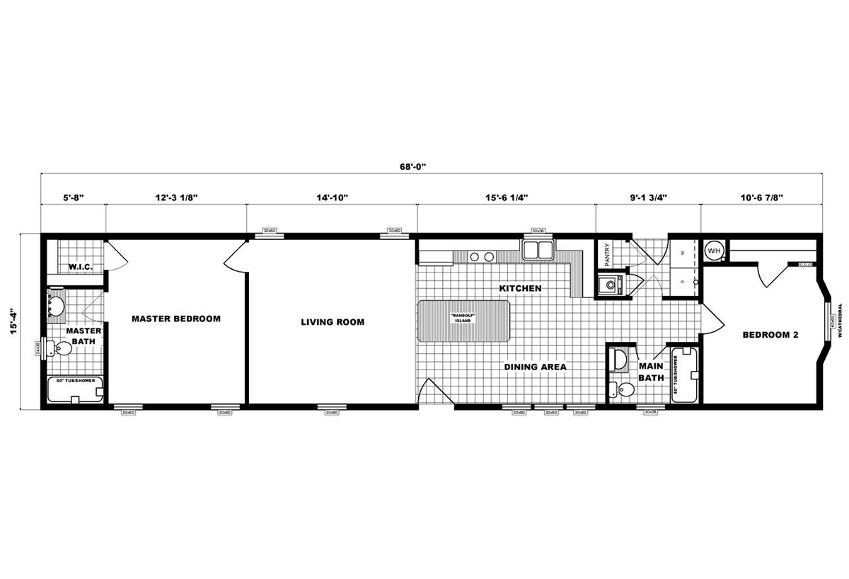 Single-Section Homes - G-16-623