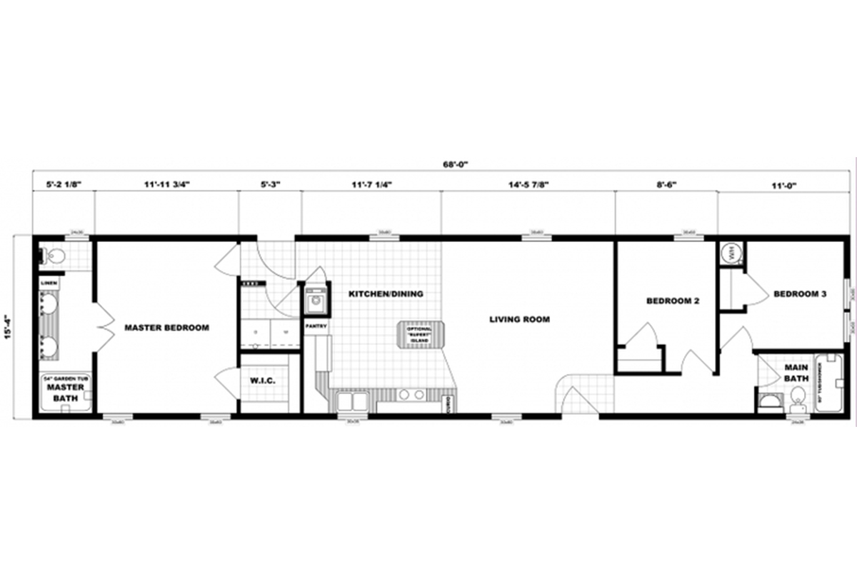 Single-Section Homes - G-16-611