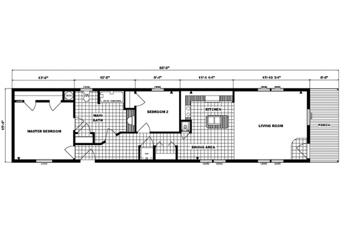 Single-Section Homes - G-16-587